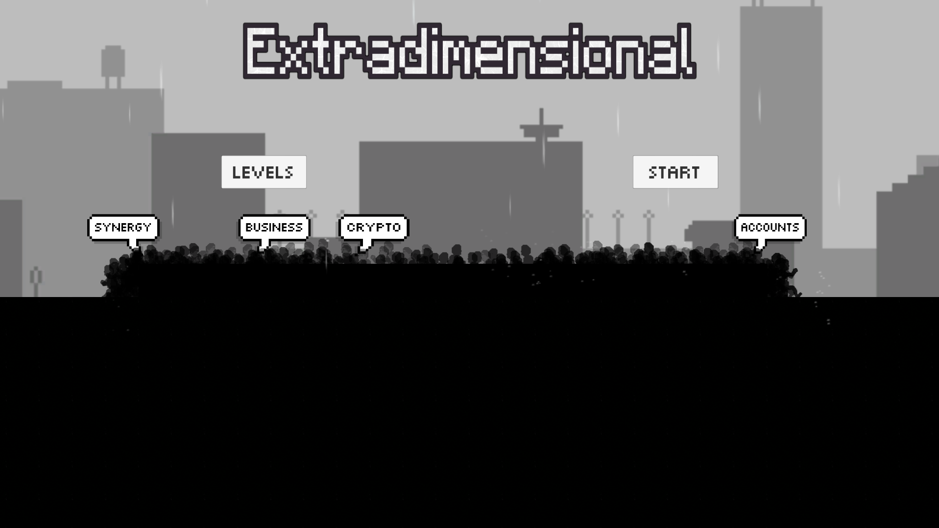 Extradimensional game