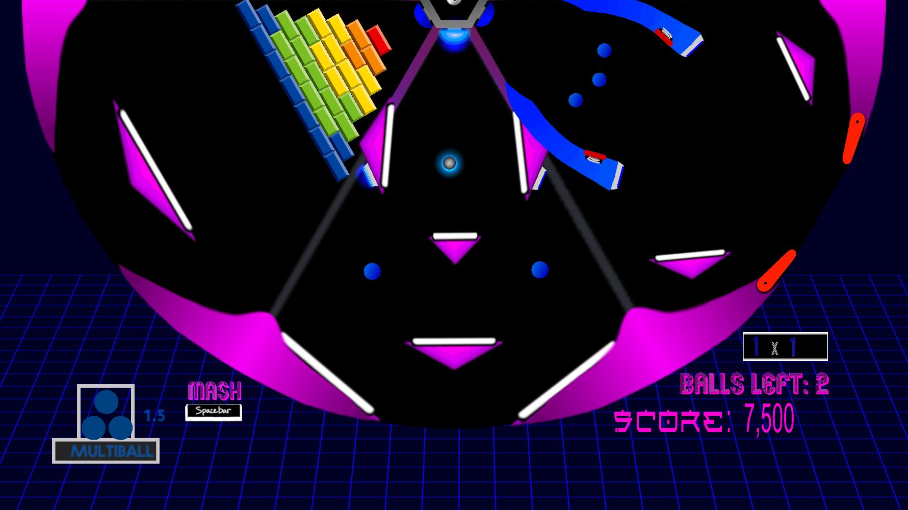 Spinball game